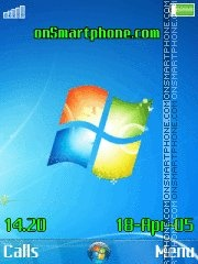 Windows 7 New theme screenshot