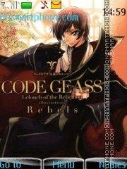 Code Geass 03 es el tema de pantalla