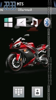 Yamaha 03 theme screenshot