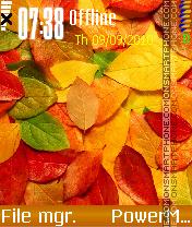 Autumn by Kallol es el tema de pantalla