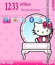 Kitty pinky theme screenshot
