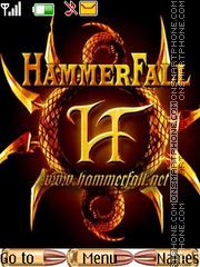 HammerFall es el tema de pantalla
