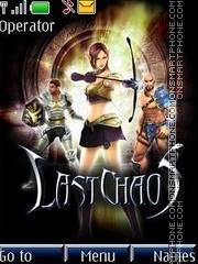 Last Chaos theme screenshot