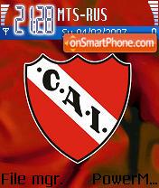 Independiente theme screenshot