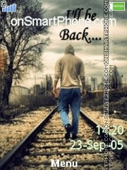 I Will Be Back 01 es el tema de pantalla