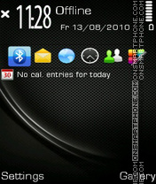 BlackPulsar theme screenshot