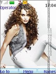 Kangna Ranaut theme screenshot