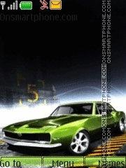 Green_Car theme screenshot