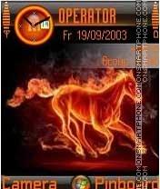 Horse on Fire es el tema de pantalla
