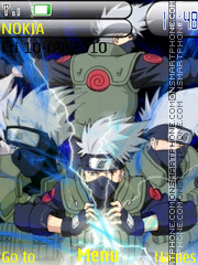 Kakashi theme screenshot