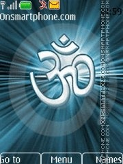 Om Shiva theme screenshot