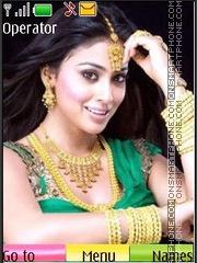 ShreyaSaran theme screenshot