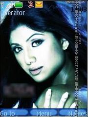 Shilpa Shetty theme screenshot