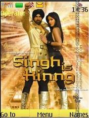Singh Is Kinng theme screenshot