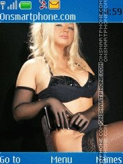 Blondr-my es el tema de pantalla