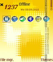 Yellowcubes fp1 es el tema de pantalla