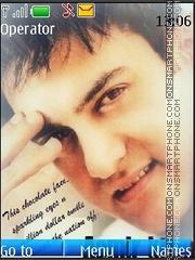 Aamir Khan theme screenshot