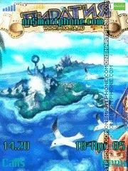 Piratia Theme 4 es el tema de pantalla