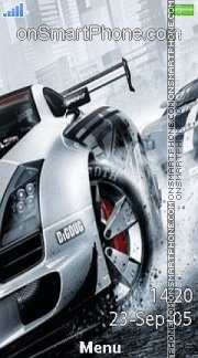 Need For Speed 12 es el tema de pantalla