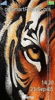 Tiger Eye 02 es el tema de pantalla