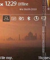 Taj 01 es el tema de pantalla