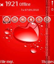 Love Drops es el tema de pantalla