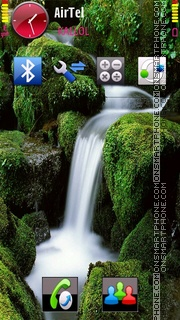 Waterfall V2 theme screenshot