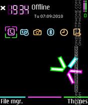 Moon light fp1 theme screenshot
