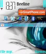 Piercing Eyes theme screenshot