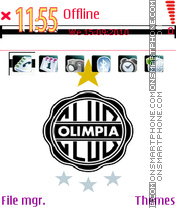 Olimpia the best club of the world es el tema de pantalla