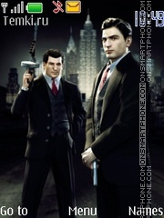 Mafia 2 Joe and Vito 01 es el tema de pantalla
