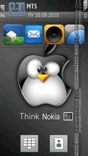 Capture d'écran I Phone Icon thème