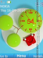 Super Clock theme screenshot