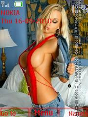 Sexi Blonde theme screenshot