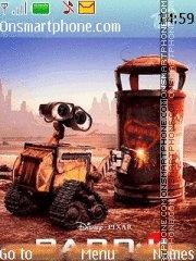 Wall-e 05 theme screenshot
