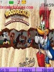 Woody Woodpecker es el tema de pantalla