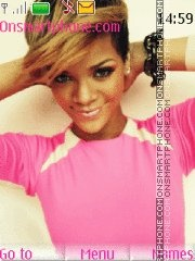 Rihanna 05 theme screenshot