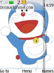 Doraemon 07 theme screenshot