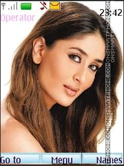 Kareena Kapoor theme screenshot