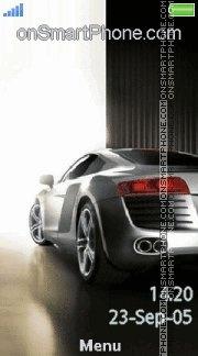 Audi Car 03 es el tema de pantalla