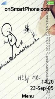 Help Me 04 es el tema de pantalla