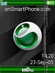 Sony Ericsson Theme es el tema de pantalla