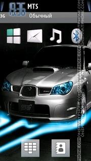 Subaru Impreza Wrx 02 theme screenshot