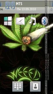 Weeds theme screenshot