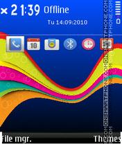 Colorful 07 es el tema de pantalla