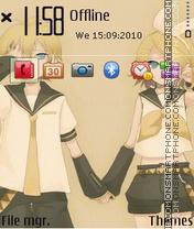 Mirror Music 2 (3rd) theme screenshot