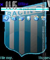 Racing Club de Avellaneda es el tema de pantalla