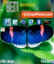 Baterfly theme screenshot