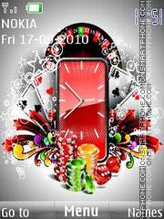 Gambling Clock es el tema de pantalla