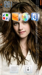 Kristen Stewart 03 theme screenshot